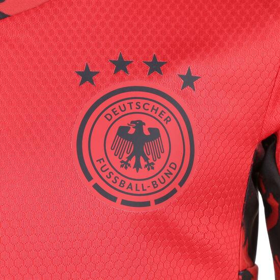 DFB Torwart Minikit Home EM 2020 Kleinkinder, rot / schwarz, zoom bei OUTFITTER Online