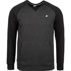 Optic Fleece Sweatshirt Herren, anthrazit / schwarz, zoom bei OUTFITTER Online
