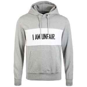 I Am Unfair Kapuzenpullover Herren, hellgrau / weiß, zoom bei OUTFITTER Online