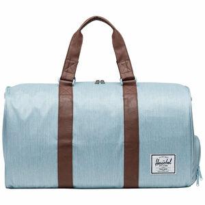 Novel Duffel Tasche, hellblau / braun, zoom bei OUTFITTER Online