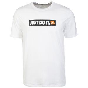 Sportswear T-Shirt Herren, weiß / schwarz, zoom bei OUTFITTER Online