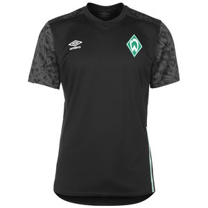 SV Werder Bremen Trainingsshirt Herren, schwarz / grau, zoom bei OUTFITTER Online