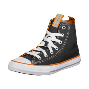 Chuck Taylor All Star Seasonal Color High Sneaker Kinder, anthrazit / orange, zoom bei OUTFITTER Online