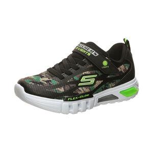 Flex-Glow Rondler Sneaker Kinder, schwarz / grün, zoom bei OUTFITTER Online