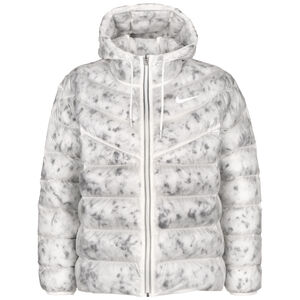 Synthetic Winterjacke Damen, weiß / grau, zoom bei OUTFITTER Online