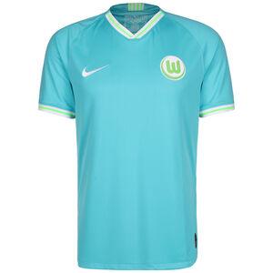 VfL Wolfsburg Trikot Away Stadium 2019/2020 Herren, türkis / grün, zoom bei OUTFITTER Online