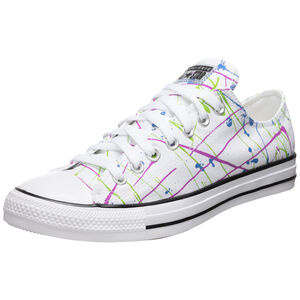 Chuck Taylor All Star Archive Paint Splatter Print Sneaker, weiß / bunt, zoom bei OUTFITTER Online