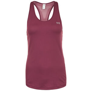 HeatGear Armour Racer Trainingstank Damen, bordeaux, zoom bei OUTFITTER Online