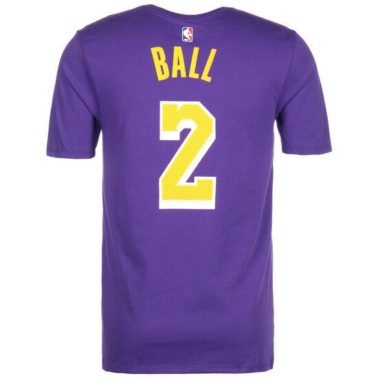 NBA Dry Lonzo Ball T-Shirt Herren, lila / gelb, zoom bei OUTFITTER Online