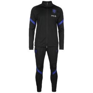 Niederlande Dry Strike Trainingsanzug EM 2021 Herren, schwarz / blau, zoom bei OUTFITTER Online