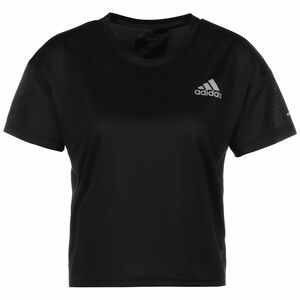 Fast Primeblue Laufshirt Damen, schwarz / silber, zoom bei OUTFITTER Online