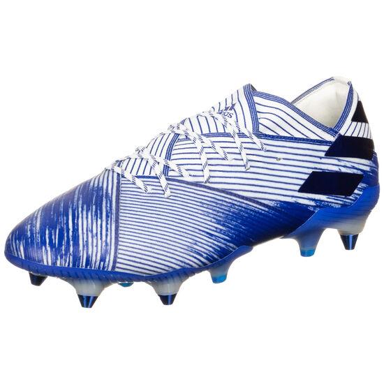 Nemeziz 19.1 SG Fußballschuh Herren, weiß / blau, zoom bei OUTFITTER Online