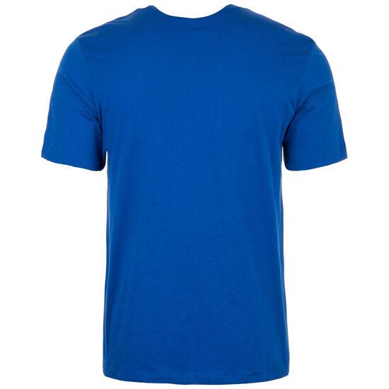 Swoosh T-Shirt Herren, blau / weiß, zoom bei OUTFITTER Online
