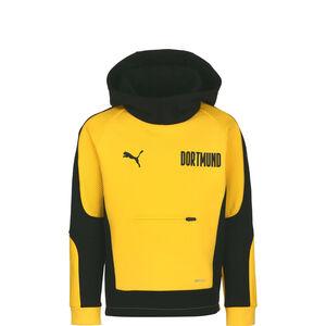 Borussia Dortmund BVB Evostripe Kapuzenpullover Kinder, gelb / schwarz, zoom bei OUTFITTER Online