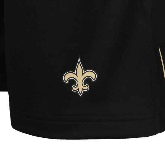 NFL Coach New Orleans Saints Shorts Herren, schwarz / gold, zoom bei OUTFITTER Online