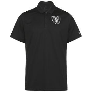 NFL Team Logo Las Vegas Raiders Poloshirt, schwarz, zoom bei OUTFITTER Online