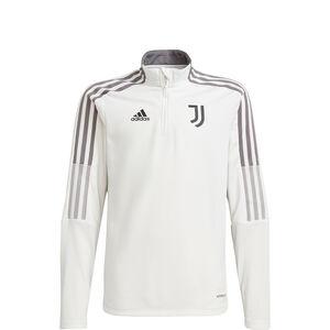 Juventus Turin Trainingssweat Kinder, weiß / grau, zoom bei OUTFITTER Online