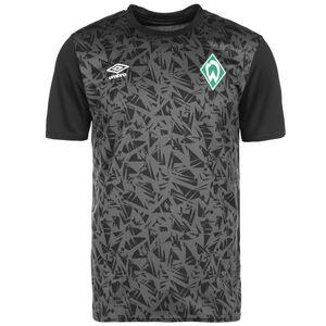 SV Werder Bremen Warm Up Trainingsshirt Herren, schwarz / grau, zoom bei OUTFITTER Online