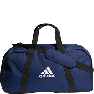 Tiro Duffel Medium Fußballtasche, dunkelblau / schwarz, zoom bei OUTFITTER Online