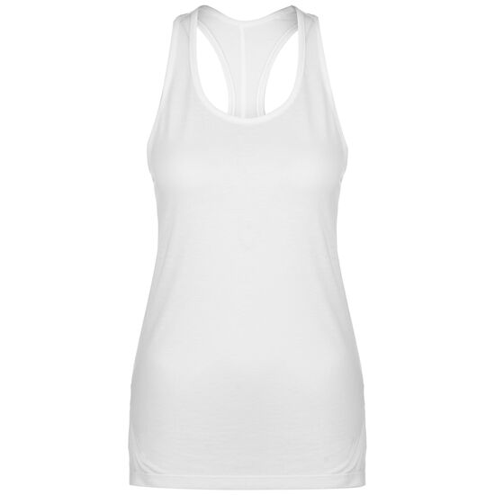 Yoga Layer Trainingstop Damen, weiß / silber, zoom bei OUTFITTER Online