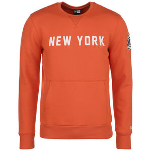 NBA Wordmark New York Knicks Sweatshirt Herren, orange / weiß, zoom bei OUTFITTER Online
