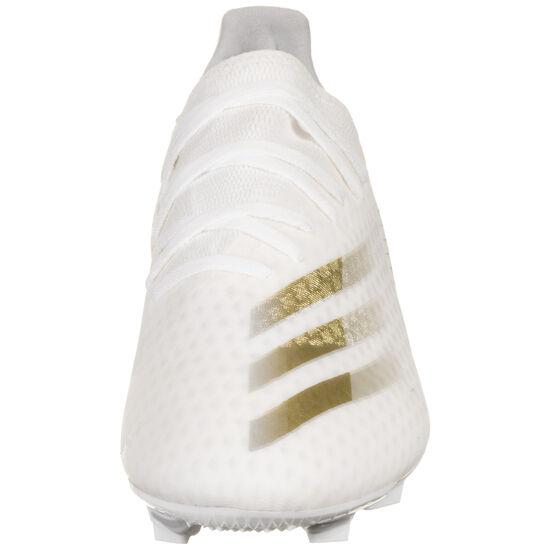 X Ghosted.3 FG Fußballschuh Herren, weiß / gold, zoom bei OUTFITTER Online