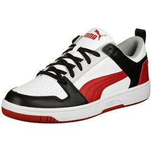 Rebound Lay Up Sneaker Herren, weiß / schwarz, zoom bei OUTFITTER Online