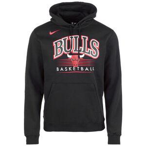 Chicago Bulls Hoodie Herren, schwarz / rot, zoom bei OUTFITTER Online