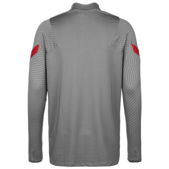 FC Liverpool Dry Strike Drill Sweatshirt Saison Herren, grau / rot, zoom bei OUTFITTER Online