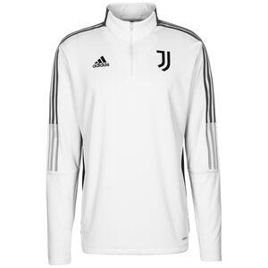 Juventus Turin Warm Trainingssweat Herren, weiß / grau, zoom bei OUTFITTER Online