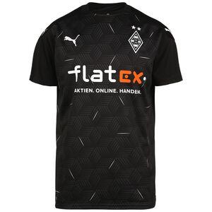Borussia Mönchengladbach Trikot Away 2020/2021 Herren, schwarz / weiß, zoom bei OUTFITTER Online