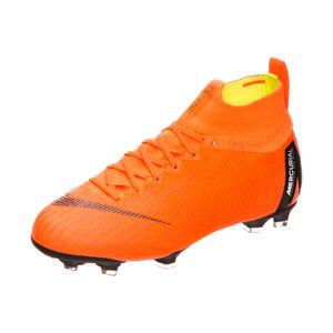 Mercurial Superfly VI Elite DF FG Fußballschuh Kinder, Orange, zoom bei OUTFITTER Online