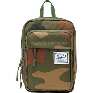 Form Large Tasche, braun / grün, zoom bei OUTFITTER Online