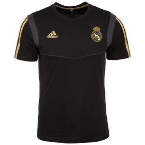 Real Madrid T-Shirt Herren, schwarz / gold, zoom bei OUTFITTER Online