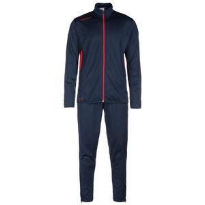 Essential Classic Trainingsanzug Herren, dunkelblau / rot, zoom bei OUTFITTER Online