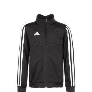 Tiro 19 Polyester Trainingsjacke Kinder, schwarz / weiß, zoom bei OUTFITTER Online
