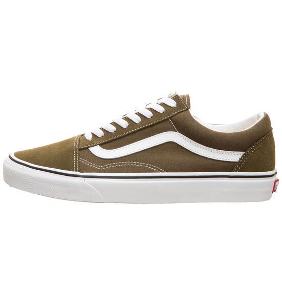 Old Skool Sneaker, khaki / weiß, zoom bei OUTFITTER Online