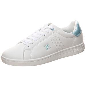Crosscourt 2 F Low Sneaker Damen, weiß / blau, zoom bei OUTFITTER Online