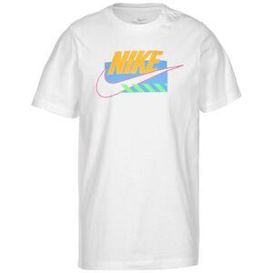 Brandmarks T-Shirt Herren, weiß / orange, zoom bei OUTFITTER Online