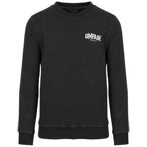 Classic Label Taped Sweatshirt Herren, schwarz / weiß, zoom bei OUTFITTER Online