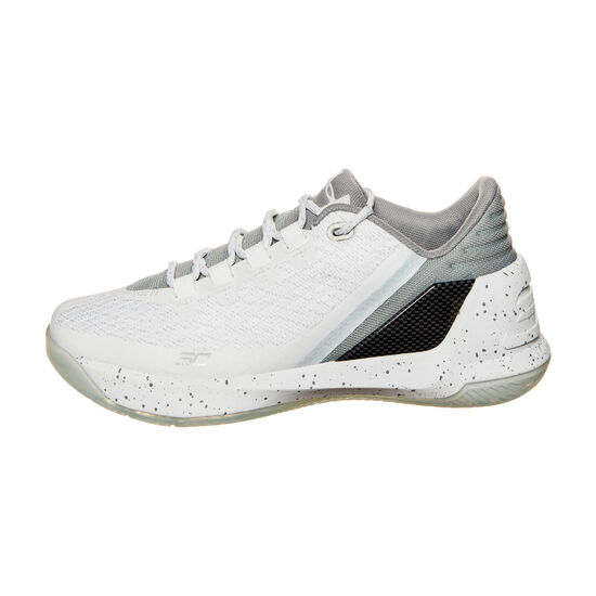 Curry 3 Basketballschuh Kinder, Weiß, zoom bei OUTFITTER Online