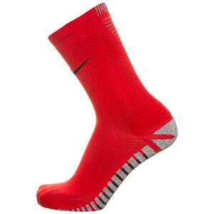 Grip Strike Light Crew Socken Herren, rot / schwarz, zoom bei OUTFITTER Online