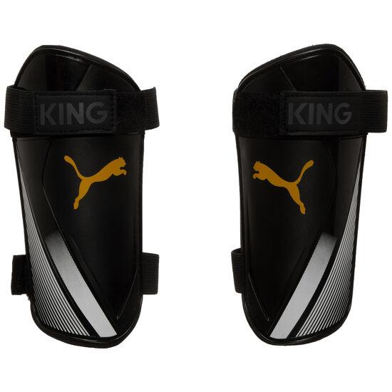 King ES 2 Schienbeinschoner, schwarz / gold, zoom bei OUTFITTER Online