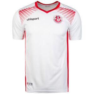 Tunesien Replica Trikot Home WM 2018 Herren, Weiß, zoom bei OUTFITTER Online