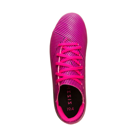 Nemeziz 19.4 FxG Fußballschuh Kinder, pink / schwarz, zoom bei OUTFITTER Online