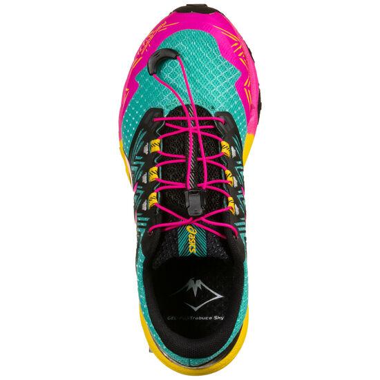 Gel-FujiTrabuco SKY Laufschuh Damen, türkis / pink, zoom bei OUTFITTER Online