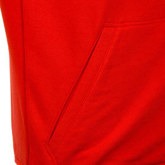 Liga Casuals Kapuzenjacke Herren, rot / weiß, zoom bei OUTFITTER Online