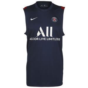 Paris St.-Germain Strike Trainingstank Herren, dunkelblau / weiß, zoom bei OUTFITTER Online