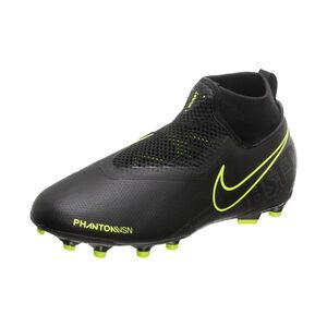 Phantom Vision Academy DF MG Fußballschuh Kinder, schwarz / neongelb, zoom bei OUTFITTER Online