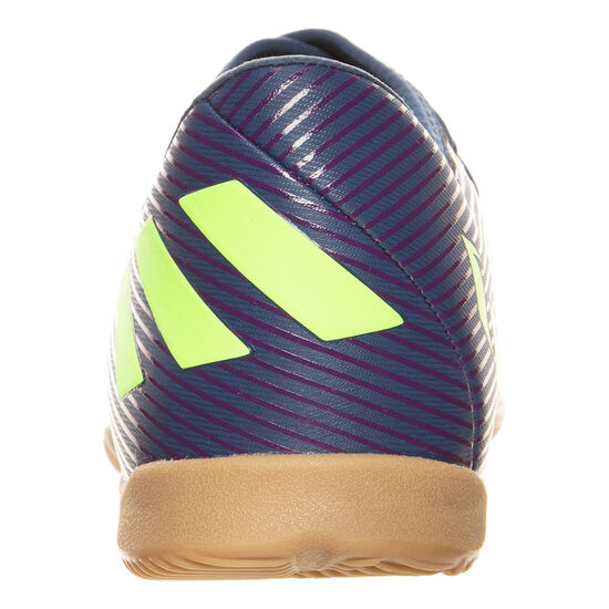 Nemeziz Messi 19.3 Indoor Fußballschuh Kinder, lila / neongrün, zoom bei OUTFITTER Online